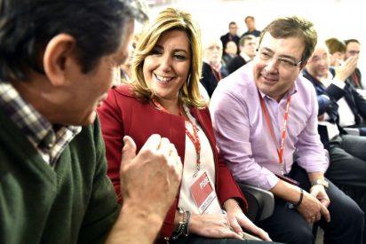 """Susana Díaz pide al PSOE de Sánchez reflexionar sobre sus """"muchos errores"""" y hacer """"autocrítica"""""""