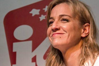 La podemita Tania Sánchez ante un nuevo 'no, punto, no volveré a IU, punto'