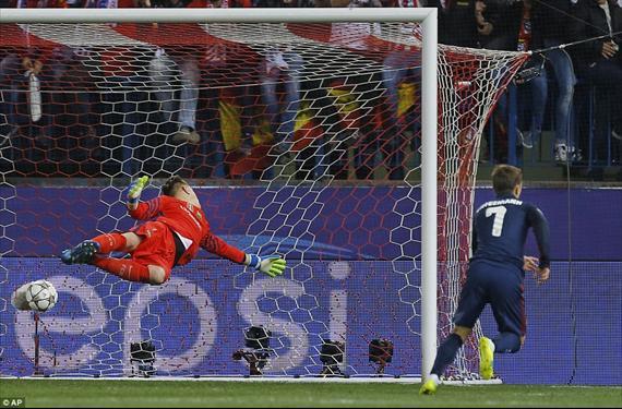 Ter Stegen se lleva los reproches de sus compañeros del Barça
