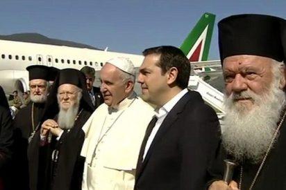 """El Papa agradece """"la generosa acogida a los refugiados del pueblo griego"""""""