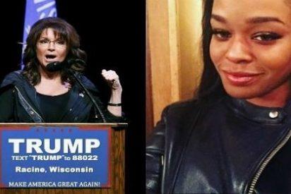 "La deslenguada rapera se disculpa con Sarah Palin por invitarla a ""comerle la polla a un negrata"""