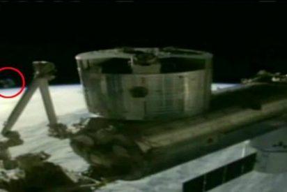 El OVNI censurado por la NASA durante una transmisión desde la ISS