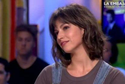 La bestialidad sexual que la actriz Úrsula Corberó soltó en 'Zapeando'