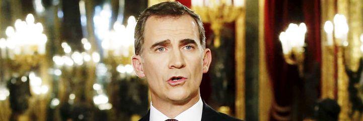 El Rey de España vuelve a entrar en escena