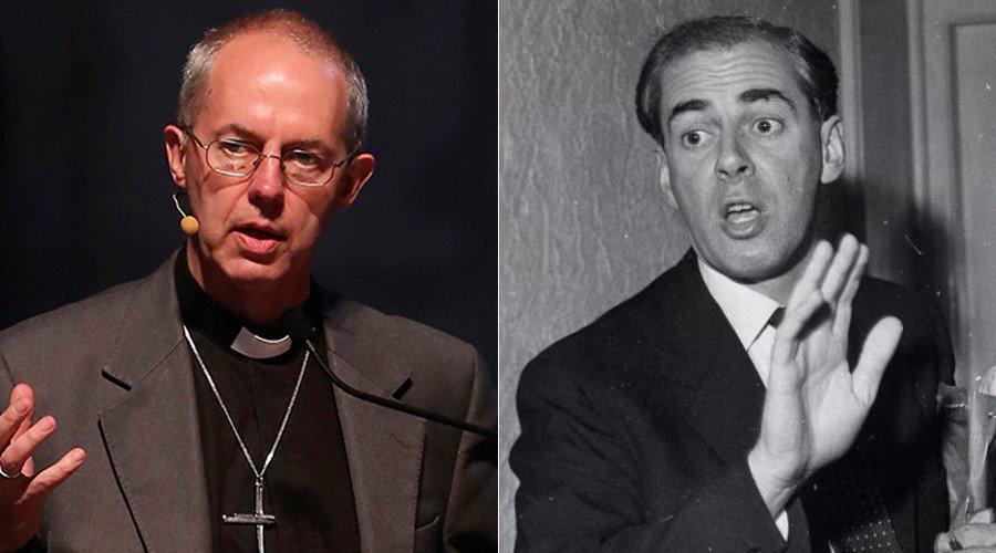 El arzobispo de Canterbury confiesa ser hijo ilegítimo del secretario personal de Churchill