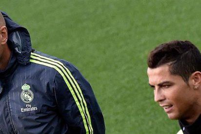 Zidane, Cristiano, su lesión y una bronca en privado que acabó... en abrazo