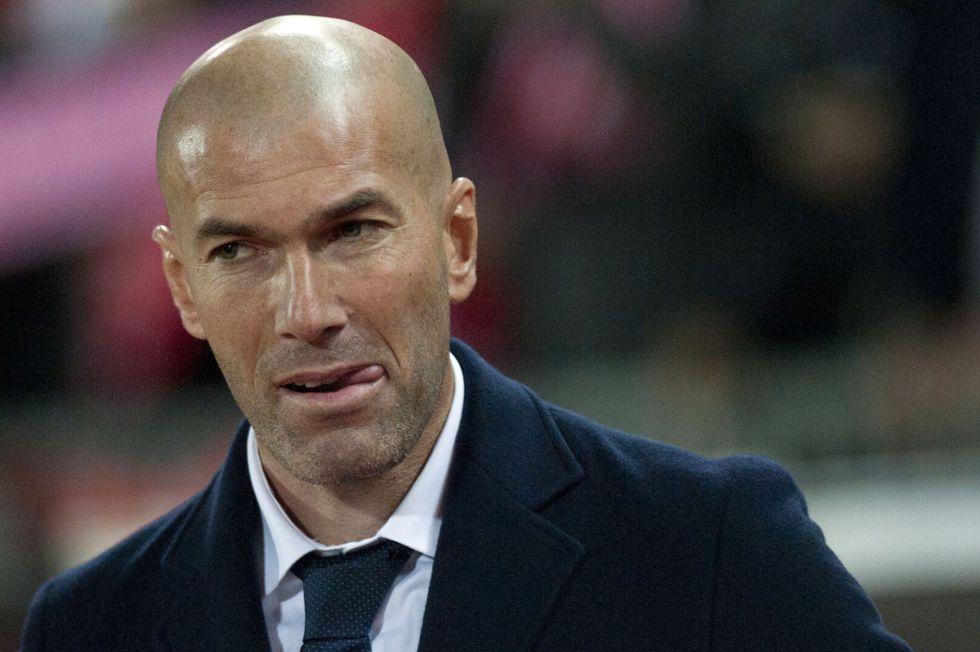 """Zinedine Zidane: """"No va a ser fácil ganar al Real Madrid, es un partido distinto"""""""