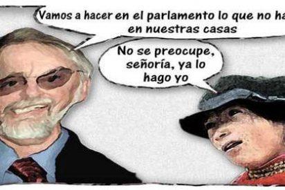 Prometer les sale gratis a los políticos en España