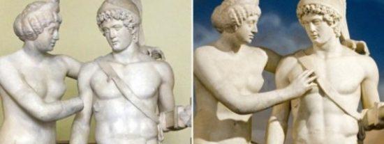 ¿Sabes por qué todas las estatuas griegas tienen el pene pequeño?