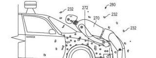 Google patenta un coche sin conductor al que se queda pegada la víctima en caso de atropello