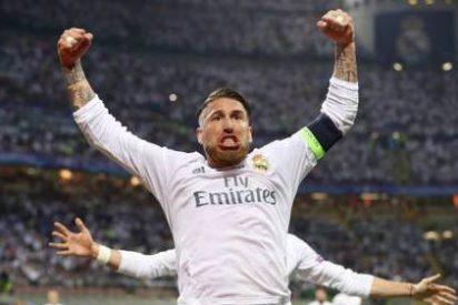 El defensa y capitán del Real Madrid, Sergio Ramos, elegido 'MVP' de la final