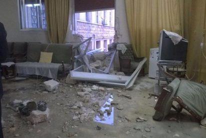 Caen dos misiles en la Escuela Tierra Santa de Alepo