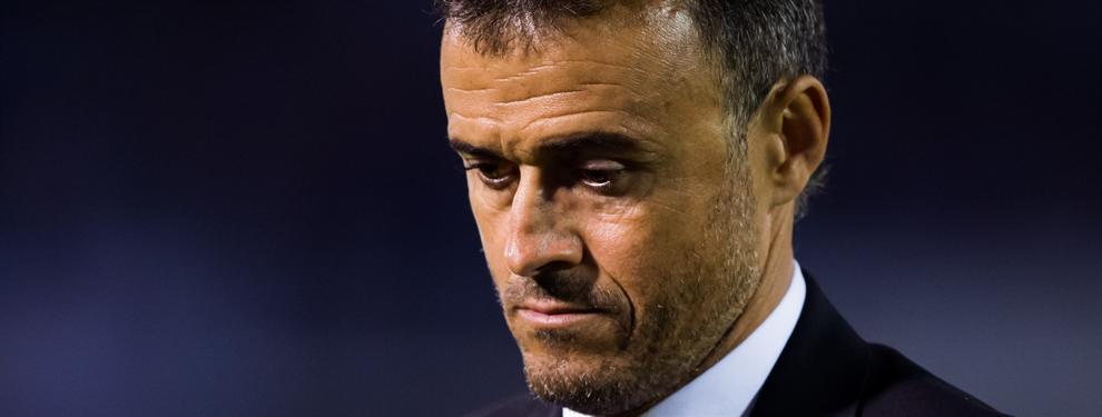 Alarmante: ¡Sólo hay un jugador en el Barça que se habla con Luis Enrique!
