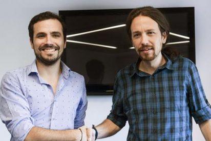 """Garzón 'imita' al """"tonto y subnormal"""" de Carmona acordando una alianza con Podemos"""