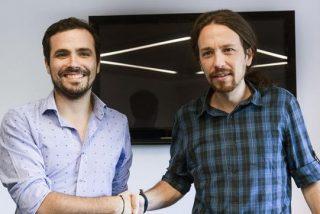 Pablo Iglesias (Podemos) y Alberto Garzón (IU) cierran un apaño para ir juntos en las elecciones generales