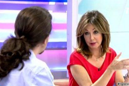 """Ana Rosa deja vendido a Iglesias: """"No te quejarás del tratamiento que te dan las teles"""""""