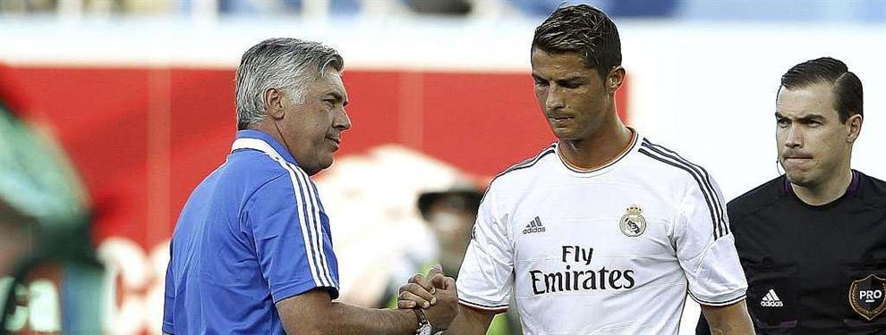 Ancelotti desvela alguno de los secretos más íntimos de Cristiano Ronaldo