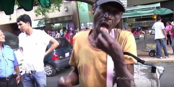 Los venezolanos que comen ratas y gatos por el duro régimen chavista