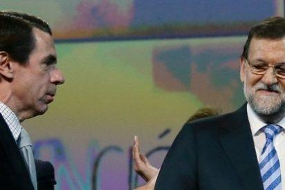 El siempre cabreado Aznar reaviva su 'guerra' con Rajoy