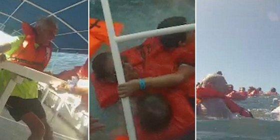 [VÍDEO] El aterrador naufragio del barco con turistas en Costa Rica