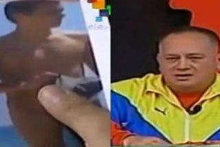 Así amenaza el narco chavista Cabello a Albert Rivera ¡enseñando su desnudo!