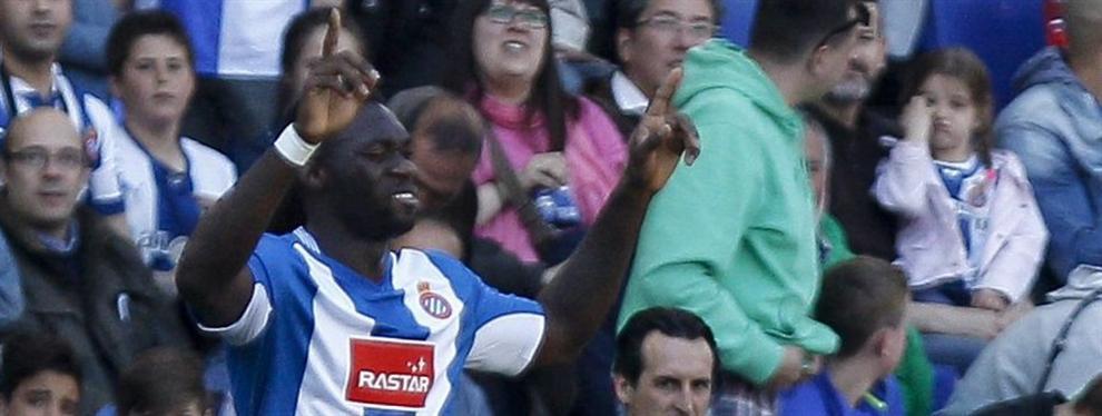 Caicedo es el hombre de la Liga: apunta a un Barça que le teme en el derbi