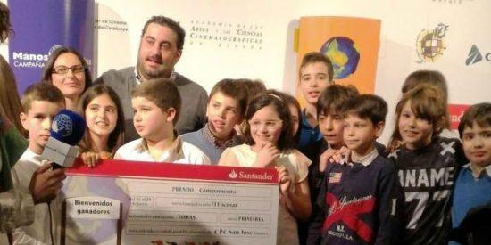 Ganadores del Festival de Clipmetrajes de Manos Unidas