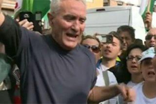 El último show de Diego Cañamero antes de ser detenido por la Guardia Civil tras atender a 'Espejo Público'