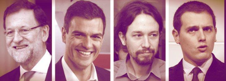 PP y Ciudadanos rozan la mayoría absoluta, Podemos-IU queda segundo y el PSOE se descalabra