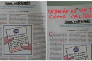 """¿Han colado un mensaje oculto en 'El País'?: """"Cebrián es un tirano como Calígula"""""""