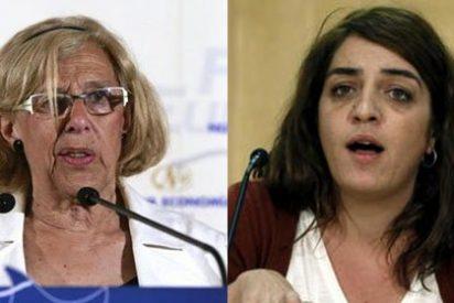 La 'okupa' Celia Máyer se lanza a tumba abierta contra 'Abuelita' Carmena