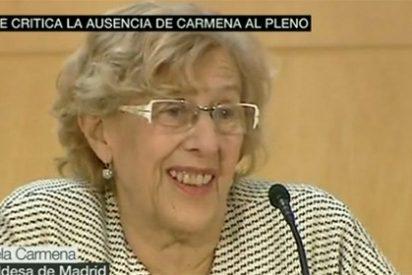 Manuela Carmena no distingue ni entre una acelga y una lechuga