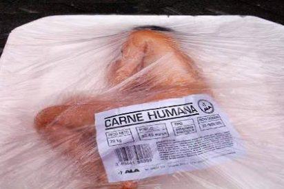 ¿Vende China carne humana enlatada en los supermercados de África?