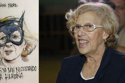Madrid ya tiene su heroína: Carmena se convierte en 'Catwoman'