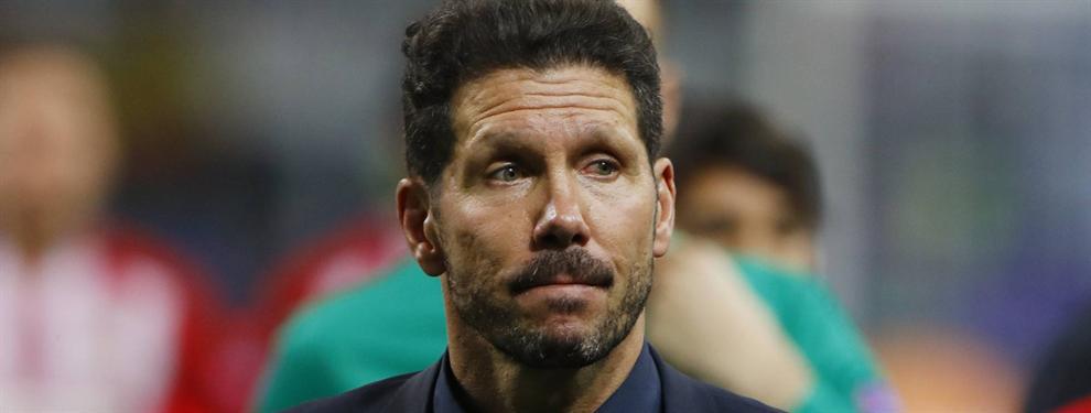 Cavani encabeza las exigencias del Cholo para quedarse en el Atlético