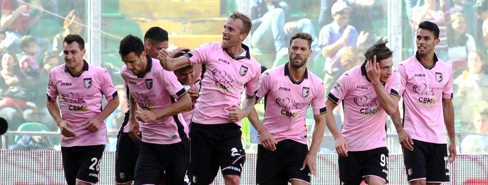El Palermo celebrará la permanencia en la Serie A italiana con fichajes de postín