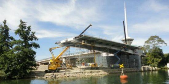 El puente que una empresa española construyó al revés en Chile y ahora será demolido