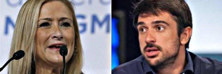 El contundente zurriagazo de Cristina Cifuentes a Ramón Espinar le deja tiritando y con la boquita cerrada