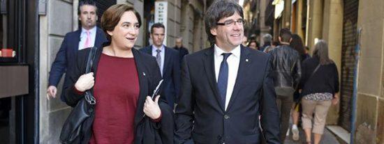 """Recadito de Sostres y Ventoso a los votantes catalanes: """"Alguna responsabilidad tendrán si tienen al golpista Puigdemont y a la antisistema Colau"""""""