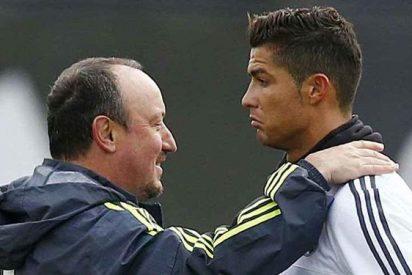 Cristiano Ronaldo se mofa de Rafa Benítez