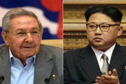La sonrojante felicitación de Raúl Castro a Kim Jong-un tras el congreso del Partido Comunista