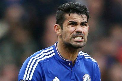 Diego Costa la vuelve a liar en el túnel de vestuarios del Chelsea - Tottenham