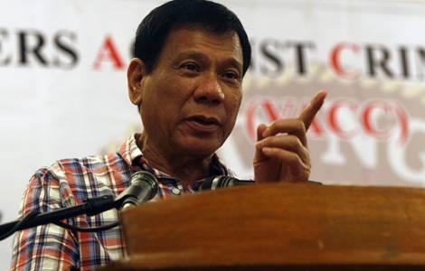 """El futuro presidente de Filipinas acusa a la Iglesia de ser """"la institución más hipócrita"""""""