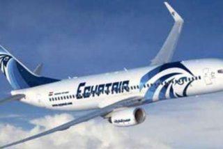 El sistema automático del avión de Egypt Air informó de fuego y humo en la cabina antes de caer al mar