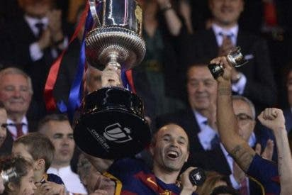 El Barça consigue el doblete, como los grandes del fútbol europeo