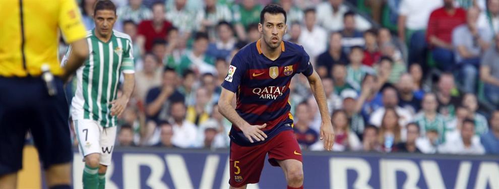 El Barça le da precio al PSG por Sergio Busquets