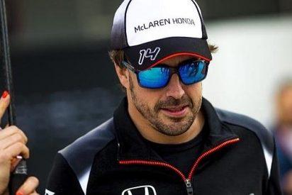 Espectacular escalada de Fernando Alonso en Mónaco