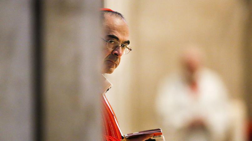 Francisco recibió este viernes al polémico cardenal Barbarin