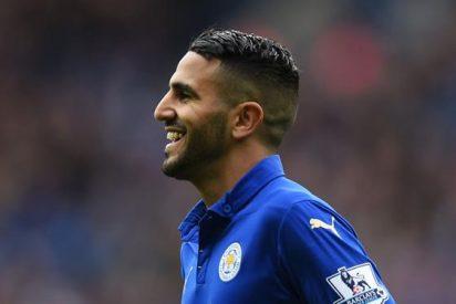 El futbolista chileno que quiere el Leicester si se va Mahrez