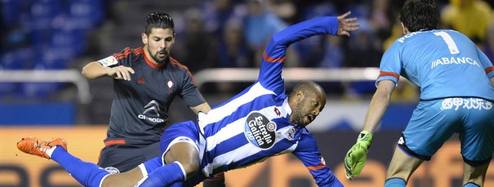 El jugador por el que se están peleando el Celta y el Deportivo de la Coruña